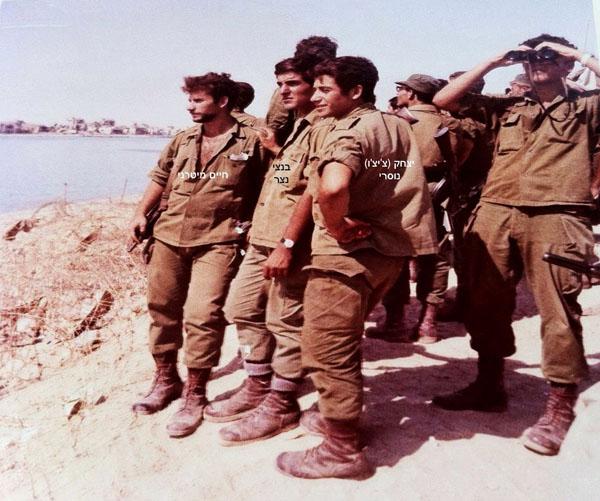 1971 על גדות תעלת סואץ לקראת מבצעית באזור המיתלה ומארבי דגן בתעלת סואץ והאגם המר 1