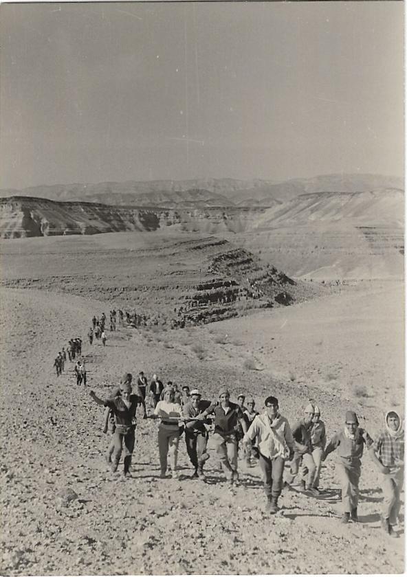 עקיבא מסע ארצי למכתשים חנוכה תשכח בדרך למורד צפרור