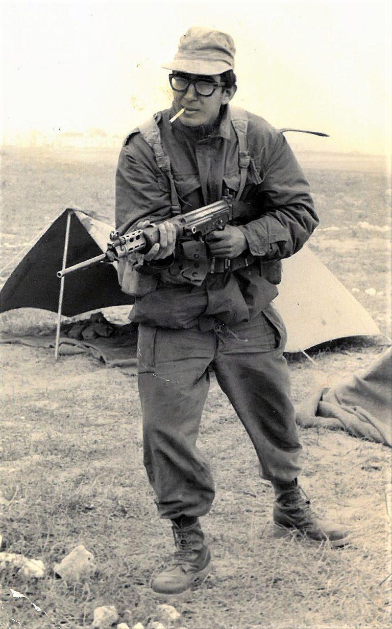 שקד מחזור פברואר 1969 זאב מילוא בטירונות