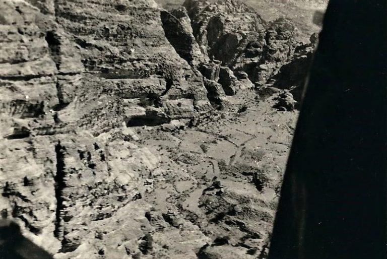 גברי לזר בפעילות מוטסת בירדן לאזור פטרה