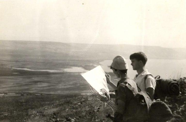 שפורן טיול לשפך הירדן עמדת תצפית מאלמגור לשפך הירדן
