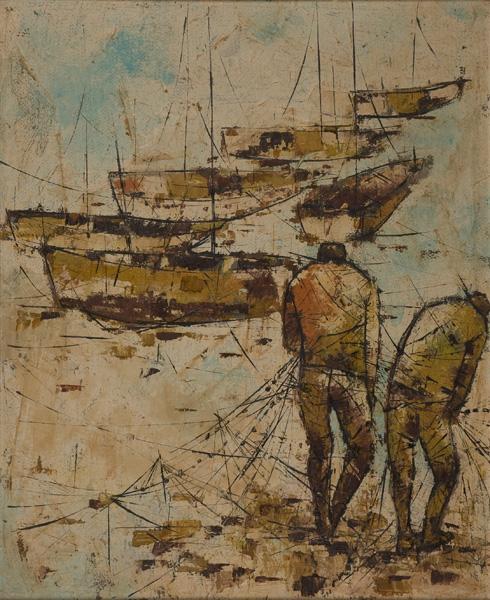10 דייגים וסירות