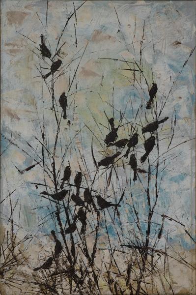 11 ציפורים על שיח