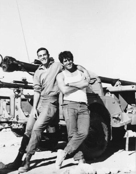 1972 דני פייט וחיים פיזנטי בקורס תולר