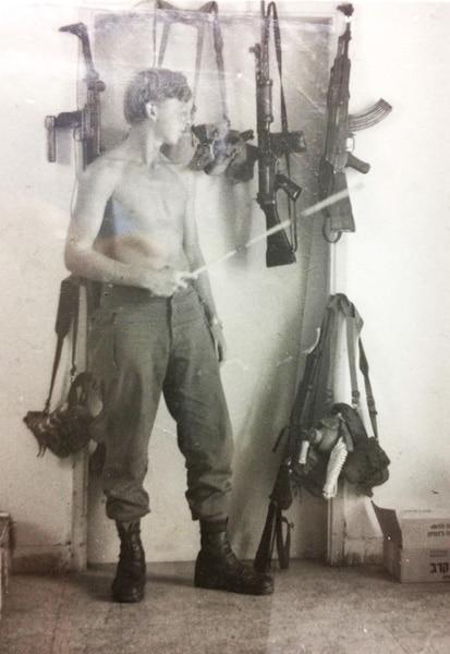 1972 פלוגה מבצעית  תערוכת הנשק  של חיים סולומון