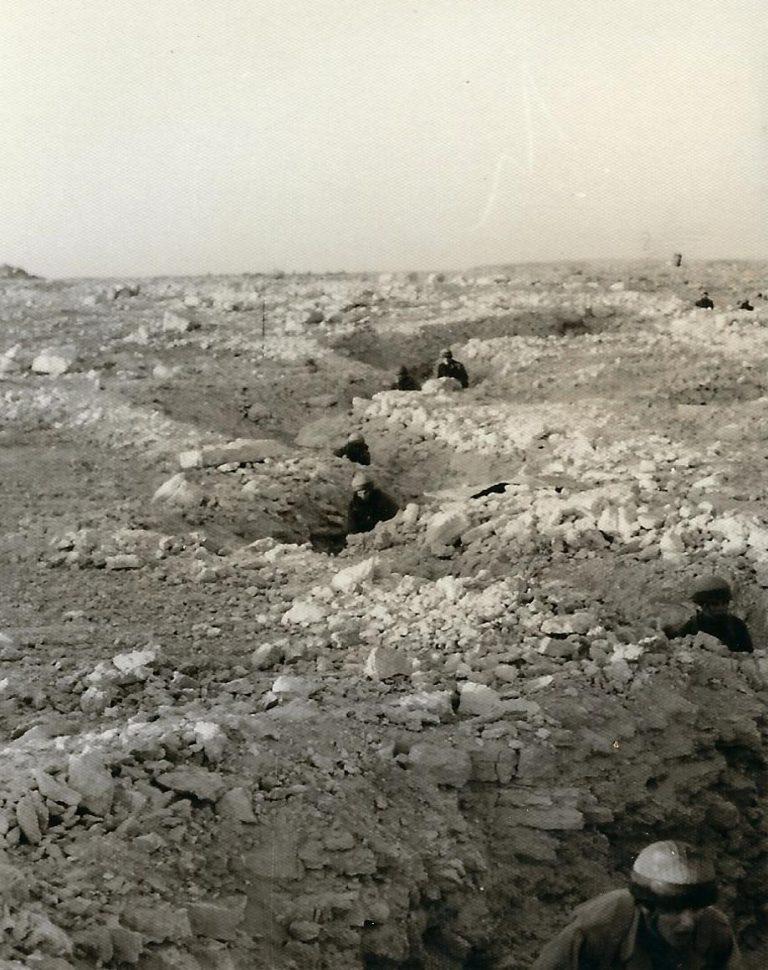 כיבוש יעד מבוצר בתעלות 02.1970 בדרכת אימון לוחם אוגוסט 1969