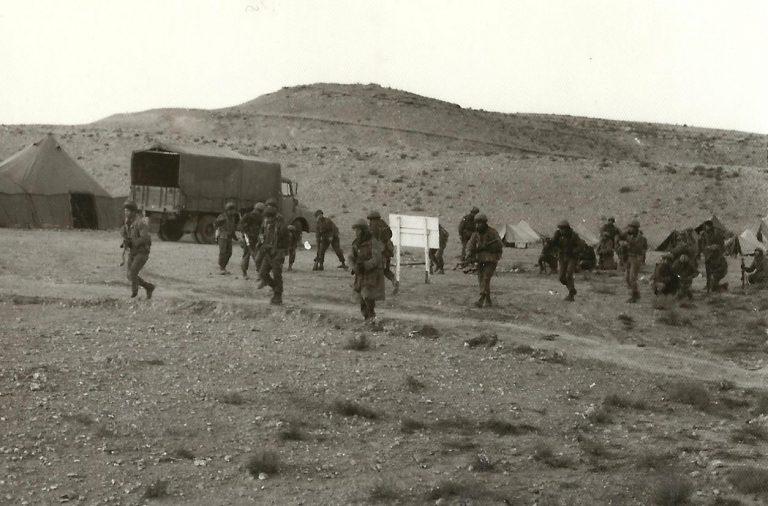 כיבוש יעד מבוצר תחילת תנועה בדרכת אימון לוחם אוגוסט 1969