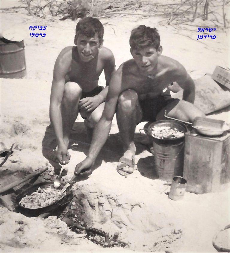 שקד ישראל פרידמן עם צביקה כרמלי