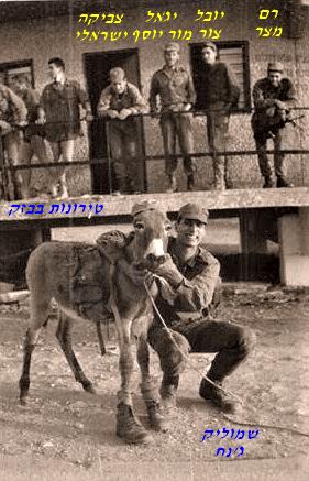 שקד טירונות בבסיס בזק מחזור אוגוסט 1981